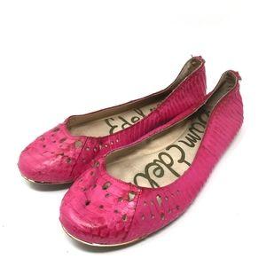 Sam Edelman Hot Pink Leighton Ballet Flats 9